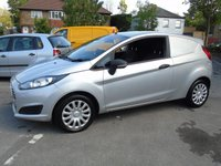 2014 FORD FIESTA 1.5 BASE TDCI 74 BHP 3DR CAR DERIVED PANEL VAN £3690.00