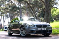 USED 2011 11 BMW 5 SERIES 3.0 535I M SPORT TOURING 5d AUTO 305 BHP