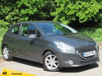 USED 2013 13 PEUGEOT 208 1.4 HDI ACTIVE 3d 68 BHP FULL TOUCH SCREEN MEDIA, BLUETOOTH