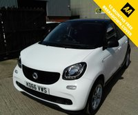 USED 2017 66 SMART FORFOUR 1.0 PASSION 5d 71 BHP
