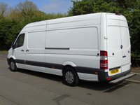 USED 2015 15 MERCEDES-BENZ SPRINTER 313 2.1CDI 129 BHP LWB HIGH ROOF PANEL VAN +1 COMPANY OWNER+PLY LINED+