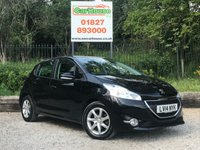 USED 2014 14 PEUGEOT 208 1.4 E-HDI ACTIVE 5dr AUTO Cruise, Bluetooth, £0 Tax!