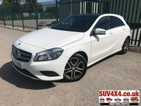 2015 MERCEDES-BENZ A CLASS 1.5 A180 CDI BLUEEFFICIENCY SPORT 5d 109 BHP PANORAMIC SUNROOF LEATHER ONE OWNER FSH £9990.00