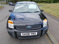 USED 2008 58 FORD FUSION 1.4 STYLE CLIMATE 5d 68 BHP ++LOW MILEAGE DIESEL+12 SERVICE STAMP HISTORY++