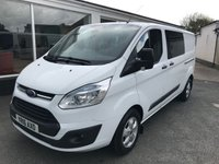 2016 FORD TRANSIT CUSTOM 310 2.2 TDCi 125 L2 H1 LWB 6-SEATER CREW SOLD