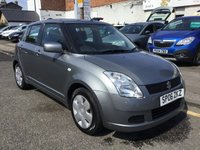 USED 2006 06 SUZUKI SWIFT 1.3 GL 5d 91 BHP OUR  PRICE INCLUDES A 6 MONTH AA WARRANTY DEALER CARE EXTENDED GUARANTEE, 1 YEARS MOT AND A OIL & FILTERS SERVICE. 6 MONTHS FREE BREAKDOWN COVER. CALL US NOW FOR MORE INFORMATION OR TO BOOK A TEST DRIVE ON 01315387070 !!