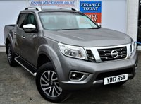 USED 2017 17 NISSAN NAVARA 2.3 DCI TEKNA 4X4 5 Seat Double Cab Pickup with Low Mileage Massive High Spec inc Rear Load Liner Side Steps Stunning Alloys Sat Nav Heated Leather Seats DAB Radio 360 Camera System Ft and Rear Parking Sensors and much more ** LOW MILEAGE FOR AGE**