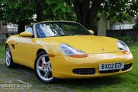 USED 2002 02 PORSCHE BOXSTER 3.2 S  ROADSTER [252 BHP]