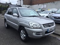 USED 2005 05 KIA SPORTAGE 2.0 XS CRDI 5d 111 BHP OUR  PRICE INCLUDES A 6 MONTH AA WARRANTY DEALER CARE EXTENDED GUARANTEE, 1 YEARS MOT AND A OIL & FILTERS SERVICE. 6 MONTHS FREE BREAKDOWN COVER. CALL US NOW FOR MORE INFORMATION OR TO BOOK A TEST DRIVE ON 01315387070 !!