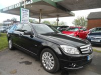 2010 MERCEDES-BENZ C CLASS 2.1 C220 CDI BLUEEFFICIENCY ELEGANCE 5d AUTO 170 BHP SAT VAV £5495.00
