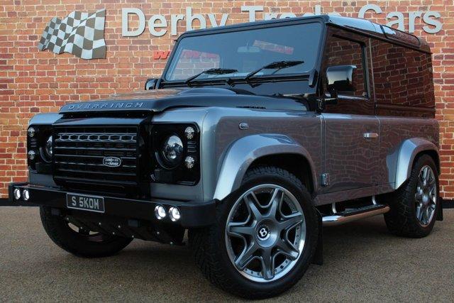 LAND ROVER DEFENDER at Derby Trade Cars
