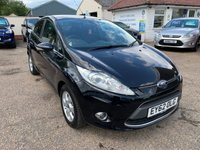 USED 2012 62 FORD FIESTA 1.6 TITANIUM ECONETIC II TDCI 5d 94 BHP ** NOW SOLD ** NOW SOLD **