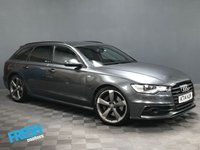USED 2014 14 AUDI A6 3.0 AVANT BiTDi BLACK EDITION TIPTRONIC QUATTRO  * 0% Deposit Finance Available