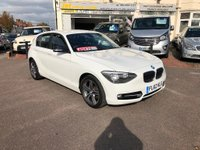 USED 2012 62 BMW 1 SERIES 2.0 116d Sport 5dr ONLY 2 OW