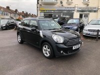 USED 2013 13 MINI COUNTRYMAN  1.6 Cooper D (Chili) ALL4 5dr ONLY 2 OW