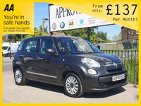 USED 2016 16 FIAT 500L 1.4 POP STAR 5d 95 BHP 0% Deposit Plans Available even if you Have Poor/Bad Credit or Low Credit Score, APPLY NOW!