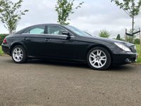 USED 2007 57 MERCEDES-BENZ CLS CLASS 3.0 CLS320 CDI AUTO 222 BHP 4 DR COUPE GENUINE 32K+ EXCELLENT EXAMPLE