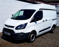 USED 2015 65 FORD TRANSIT CUSTOM 2.2 290 LR P/V 1d 99 BHP