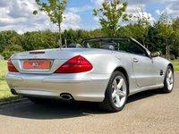 USED 2005 55 MERCEDES-BENZ SL 3.7 SL350 AUTO 245 BHP 2DR CONVERTIBLE (FACE LIFT) +PAN ROOF+ FMSH+SATNAV+