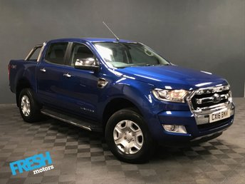 2016 FORD RANGER 3.2 LIMITED 4X4 DCB TDCI  £17000.00