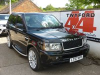 USED 2007 57 LAND ROVER RANGE ROVER SPORT 3.6 TDV8 SPORT HSE 5d AUTO 269 BHP FACTORY FITTED REAR ENTERTAINMENT,FULL SERVICE HISTORY.