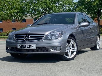 2010 MERCEDES-BENZ CLC CLASS 1.6 CLC 160 BLUEEFFICIENCY SPORT 3d 129 BHP £4995.00