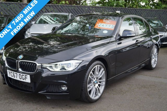 2017 67 BMW 3 SERIES 2.0 330E M SPORT 4d AUTO 181 BHP