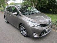 2016 TOYOTA VERSO 1.8 VALVEMATIC DESIGN 5d AUTO 145 BHP £14000.00