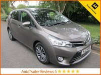 USED 2016 TOYOTA VERSO 1.8 VALVEMATIC DESIGN 5d AUTO 145 BHP Fantastic One owner Automatic Toyota Verso Petrol with Seven Seats, Satellite Navigation, Glass Panoramic Roof, Climate Control, Crusie Control, Alloy Wheels and Toyota Service History. This Vehicle Is ULEZ Compliant.