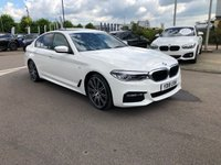 USED 2018 18 BMW 5 SERIES 3.0 530d M Sport Auto 4dr SUNROOF/HIGH SPEC