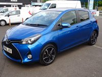 USED 2016 16 TOYOTA YARIS 1.3 VVT-I DESIGN 5d 99 BHP IMMACULATE THROUGH-OUT