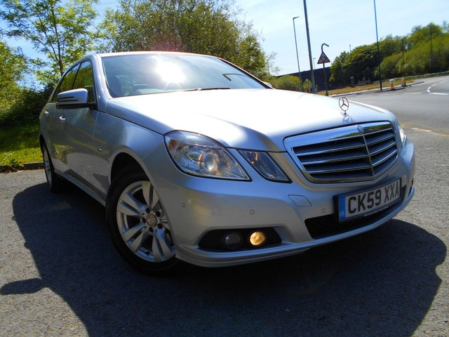 2009 59 MERCEDES-BENZ E CLASS 2.1 E250 CDI BLUEEFFICIENCY SE 4d AUTO 204 BHP **  DIESEL , AUTOMATIC , BLACK HEATED LEATHER SEATS, ALLOYS,  LOVELY EXAMPLE **