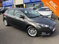 2016 FORD FOCUS 1.0 ECOBOOST 125 BHP ZETEC 5d [NAVIGATION] £SOLD