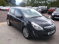 USED 2012 12 VAUXHALL CORSA 1.4 SE 5d 98 BHP Great example of a well maintained car. Drives lovely and has a long MOT until March 2020.