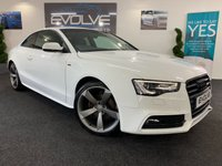 2012 AUDI A5 2.0 TDI BLACK EDITION 2d 177 BHP £11299.00