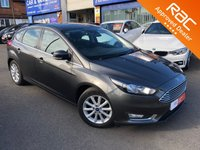 2016 FORD FOCUS 1.0 TITANIUM 5d AUTO 124 BHP NAVIGATION  £SOLD