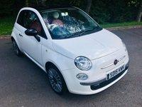 2015 FIAT 500 1.2 CULT 3d 69 BHP £6595.00