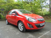 USED 2014 14 VAUXHALL CORSA 1.0 EXCITE ECOFLEX 3d 64 BHP SUPPLIED WITH 12 MONTHS WARRANTY