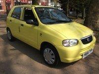 2004 SUZUKI ALTO 1.1 GL 5d 62 BHP 12 MONTHS MOT FREE WARRANTY £1499.00
