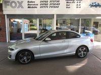 2015 BMW 2 SERIES 2.0 220I SPORT 2d AUTO 181 BHP £14975.00