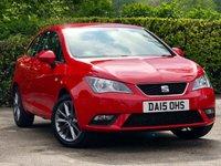2015 SEAT IBIZA 1.2 TSI I-TECH SportCoupe 3d 104 BHP £6795.00