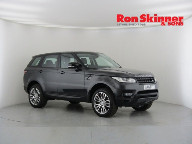 View our 2016 16 LAND ROVER RANGE ROVER SPORT 3.0 SDV6 HSE DYNAMIC 5d AUTO 306 BHP