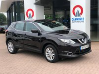 USED 2017 17 NISSAN QASHQAI 1.2 ACENTA DIG-T XTRONIC 5d AUTO 113 BHP 1 OWNER | BLUETOOTH | AIR CON