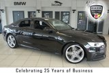 USED 2014 64 AUDI A6 2.0 TDI ULTRA BLACK EDITION 4d AUTO 188 BHP FINISHED IN STUNNING PHANTOM BLACK WITH HALF BLACK LEATHER SEATS + SERVICE HISTORY + SATELLITE NAVIGATION + 19 INCH ALLOYS + XENON HEADLIGHTS + £30 ROAD TAX + DAB RADIO + BLUETOOTH + PARKING SENSORS