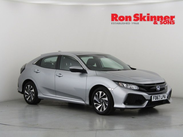 View our 2017 67 HONDA CIVIC 1.0 VTEC SE 5d 128 BHP