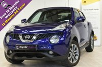 USED 2014 64 NISSAN JUKE 1.5 TEKNA DCI 5d 110 BHP 1 OWNER, FULL SERVICE HISTORY