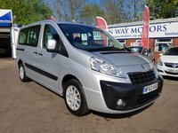 USED 2013 63 PEUGEOT EXPERT 2.0 TEPEE LEISURE L1 HDI 5d AUTO 163 BHP 0%  FINANCE AVAILABLE ON THIS CAR PLEASE CALL 01204 393 181