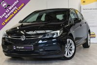 USED 2016 16 VAUXHALL ASTRA 1.6 TECH LINE CDTI ECOFLEX S/S 5d 108 BHP SAT NAV, CRUISE, PARKING AID, APPLE PLAY, FREE TAX