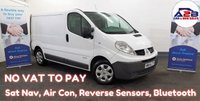 2014 RENAULT TRAFIC 2.0 DCi SL27 EXTRA with NO VAT TO PAY, Sat Nav, Air Conditioning and more £7980.00
