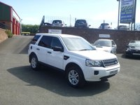 USED 2013 63 LAND ROVER FREELANDER 2.2 TD4 BLACK AND WHITE 5d 150 BHP